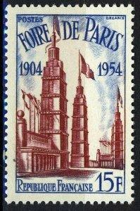 France 1954, 15 Fr 50 years of the Paris fair VF MNH, Mi 1001