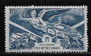 Somali Coast C8 WWII Victory single MNH