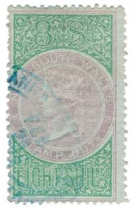 (I.B) Australia - NSW Revenue : Stamp Duty 8/-