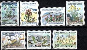 Greenland #189-96  MNH CV $15.60 (X1302)