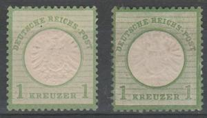 #21,21a Germany Mint NG