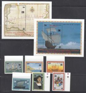 St. Vincent Scott 1632-1639 Mint NH (Catalog Value $27.75)