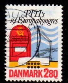Denmark -  #822 Communications - Used