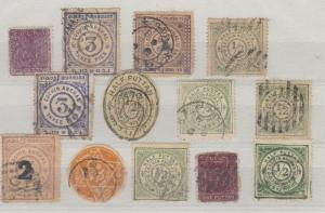 Indian States Cochin Early Collection (13 Values) Unchecked J4030