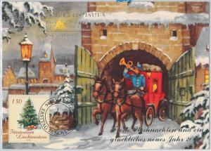 63592X  -  LIECHTENSTEIN - POSTAL HISTORY: MAXIMUM CARD 2000 - CHRISTMAS
