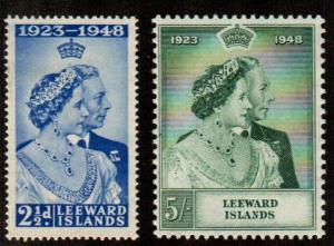 Leeward Islands #118-119  Mint  Scott $7.00