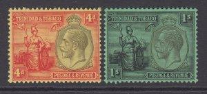 Trinidad & Tobago, Scott 32-33 (SG 216-217), MHR
