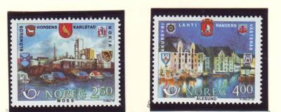 Norway Sc 894-5 1986 Nordic Co-op stamps mint NH