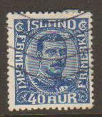 Iceland #124 Used