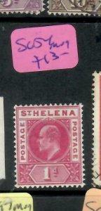 ST HELENA  (PP1305B)  KE  1D  SG 54   MOG