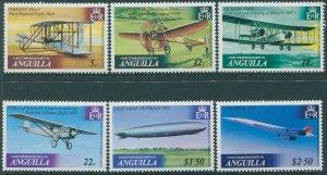 Anguilla 1979 SG365-370 Powered Flight set MNH