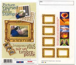 Canada - 2000 46c Quick Stick Greetings Booklet #BK227a