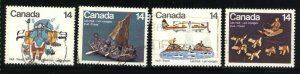 Can #769-72   -2   used VF 1978 PD