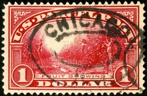 US Stamps # Q12 Used XF Choice used top value