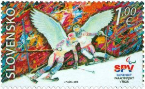 SLOVAKIA / 2018, The XII Winter Paralympic Games in PyeongChang, MNH