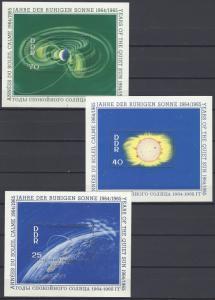 German Democratic Republic Scott # 745 - 747, mint nh, 3 s/s