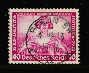 Germany a 40+35pf good/fine used Wagners Operas from the 1933 set