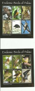 PALAU 2007 BIRDS SCOTT 888-9  MNH COMPLETE SET