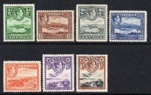 Antigua 1938 KGVI p/set (7v.) mint
