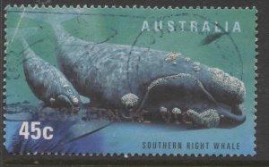 STAMP STATION PERTH Australia #1706 Marine Life Used