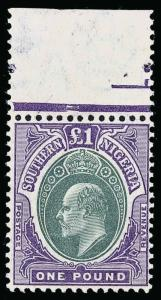 Southern Nigeria Scott 31 Gibbons 32 Never Hinged Stamp
