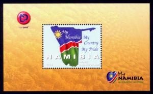 Namibia Sc# 1282 MNH My Namibia (S/S)