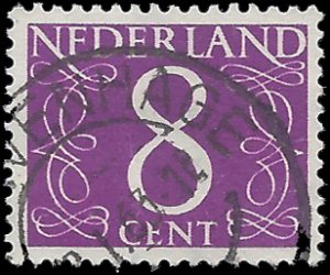 Netherlands #343a 1957 Used