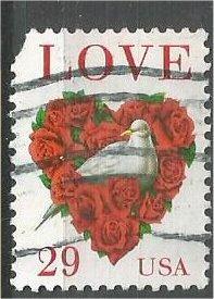UNITED STATES, 1994, used 29c Love Scott 2814