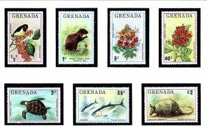 Grenada 692-98 MNH 1976 Wildlife