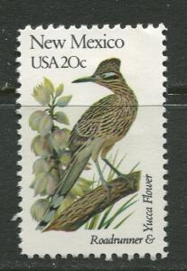 USA - Scott 1983 - State Birds & Flowers - 1982 - MNG - Single 20c Stamp