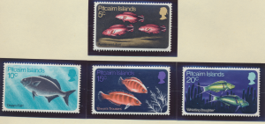 Pitcairn Islands Stamps Scott #114 To 117, Mint Lightly Hinged - Free U.S. Sh...