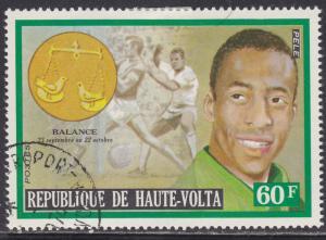 Burkina Faso 317 Famous Men & Zodiac Signs 1973