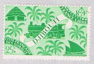 Djibouti Locomotive 25 - wysiwyg (AP112417)