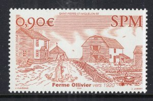 St Pierre and Miquelon 772 MNH VF