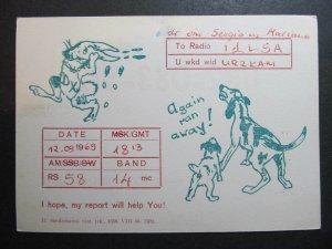 10341 Amateur Radio QSL Card TARTU ESTONIA