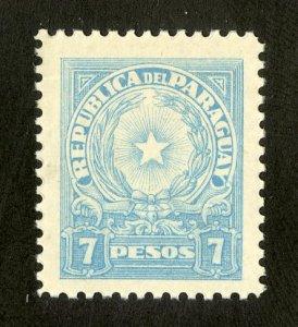 PARAGUAY 393 MH BIN $.50