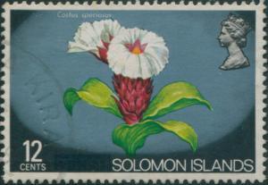 Solomon Islands 1975 SG292 12c Flower FU