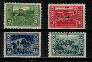 Albania Scott B1-4 Mint hinged (Catalog Value $44.00)