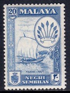Malaya (Negri Sembilan) - Scott #70 - MH - SCV $1.00