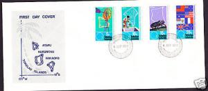 TOKELAU  FDC 1972 SOUTH PACIFIC COMMISSION