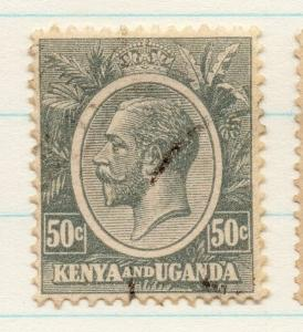 Kenya Uganda 1922 GV Early Issue Fine Used 50c. 198429