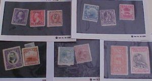 CUBA STAMPS 11 DIFF. #179/P29 MINT NO GUM cat.$154.00