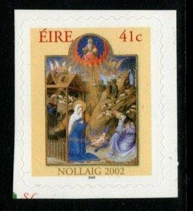 IRELAND SG1563 2002 CHRISTMAS SELF ADHESIVE MNH