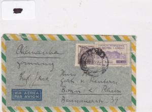 Brazil stamp  cover Ref 9034
