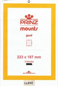PRINZ 223X187 (3) BLACK MOUNTS RETAIL PRICE $10.50