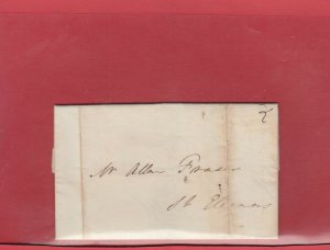 1837 Charlottetown to St. Eleanors 1837 Business letter 2d for letter,