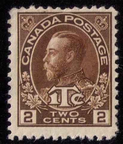 Canada Scott #MR4 Unused,Mint ,No Gum F-VF