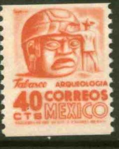 MEXICO 1004 40¢ 1950 Def 6th Issue. COIL, MINT, NH. VF.