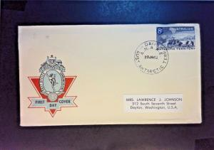 Australia Antarctic Terr. 1962 First Day Cover / Mawson Cancel - Z984