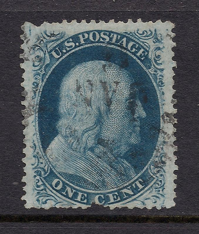 US#24 Blue - Type Va - Used
